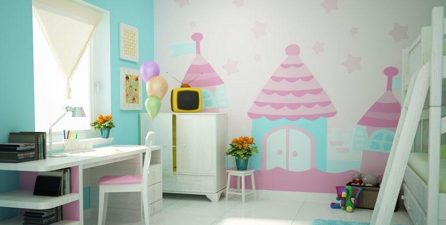 Nên chọn giấy dán tường như nào cho phòng ngủ bé gái