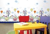 Cách chọn giấy dán tường trang trí phòng cho bé mẫu giáo