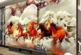 Tư vấn chọn tranh dán tường 3D để tài lộc đầy nhà cho 12 con giáp