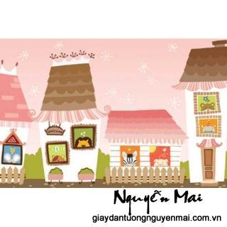 Làm mới ngôi nhà bạn bằng giấy dán tường