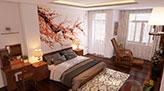 Trang trí nhà đón tết Mậu Tuất hợp phong thủy - giấy dán tường