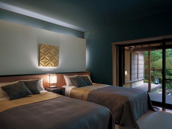 Giấy dán tường cho phòng ngủ vợ chồng thêm phần sang trọng