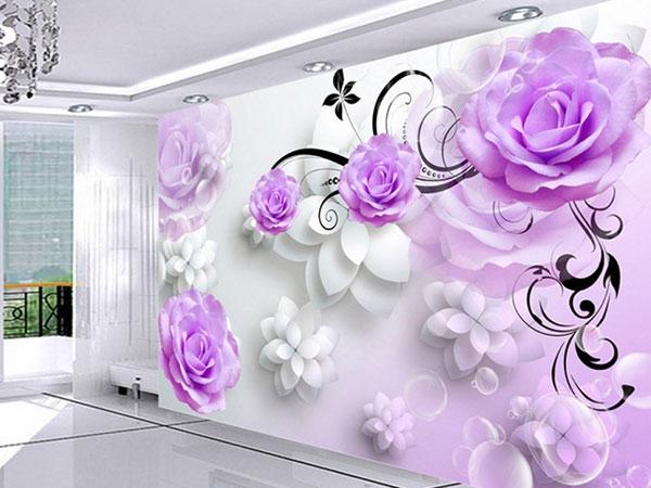 Giấy dán tường 3D tạo ấn tượng cho ngôi nhà bạn