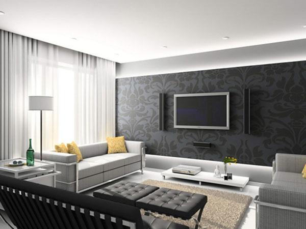 Trang trí căn phòng bằng giấy dán tường cho không gian sống tươi mới