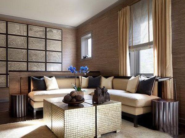 Ngôi nhà đắt tiền hơn nhờ giấy dán tường