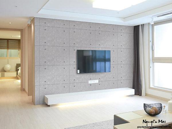 Giấy dán tường LIVING giúp làm mới ngôi nhà bạn