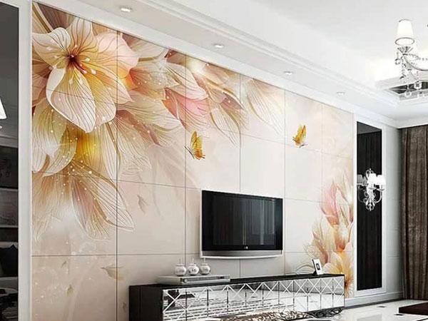Giấy dán tường chung cư theo phong cách hiện đại
