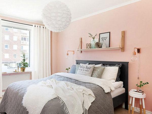 Mẫu giấy dán tường phòng ngủ dành cho mùa hè nắng nóng