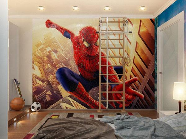 Cách lựa chọn giấy dán tường cho phòng bé trai