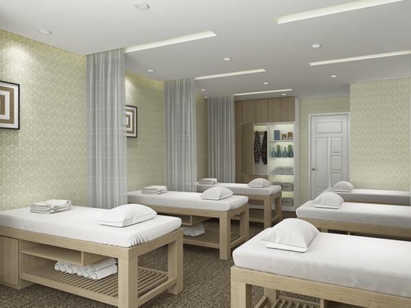 Tư vấn chọn giấy dán tường trong thiết kế nội thất spa