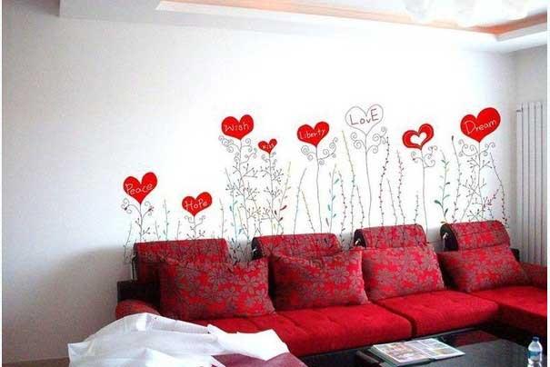 Giấy dán tường trang trí nội thất siêu hot cho quán trà sữa