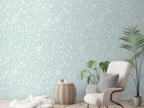 Mẫu giấy dán tường giúp cho ngôi nhà bạn thêm đẹp và tươi sáng hơn