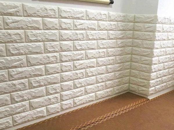 Phòng ngủ, phòng khách sang trọng với giấy dán tường xốp 3D