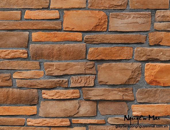 Tuyệt đẹp với giấy dán tường giả đá