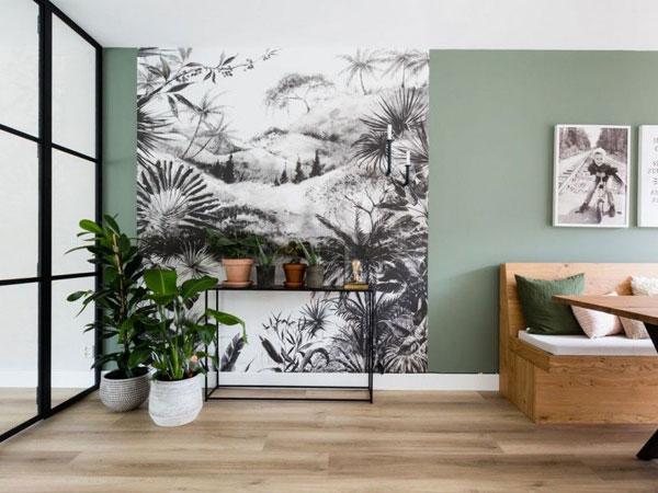 7 cách sử dụng giấy dán tường trong ngôi nhà của bạn