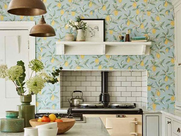 5 cách sử dụng giấy dán tường trong nhà bếp