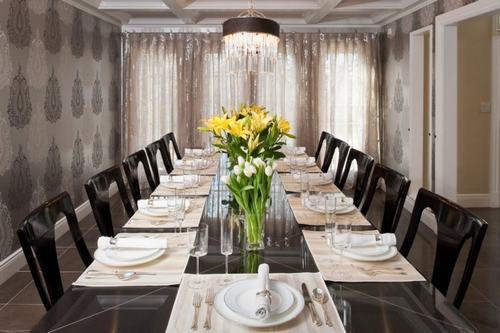 Giấy dán tường đẹp cho phòng ăn