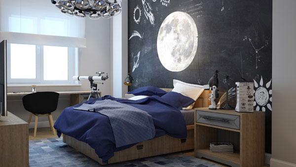 Phòng ngủ độc đáo của những đứa trẻ thông minh