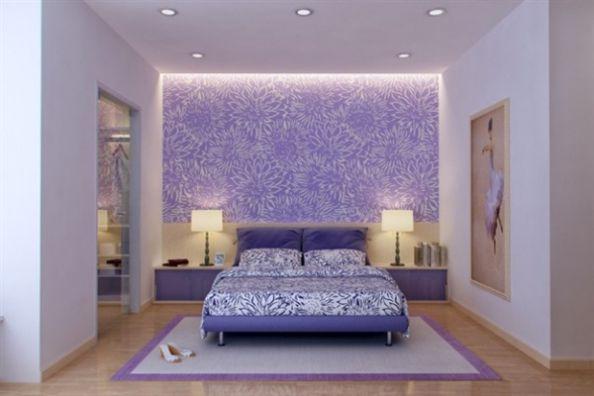 Tập hợp các mẫu phòng ngủ giấy dán tường đẹp quyến rũ