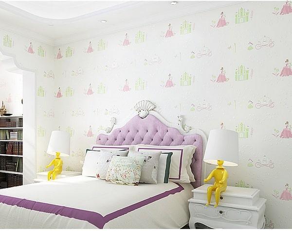 giấy dán tường phòng ngủ trẻ em