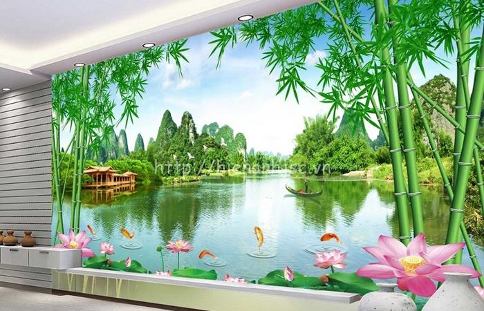 Tranh Dán Tường Nguyễn Mai